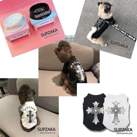 クロムハーツ 犬の服 フードボウル リード ハーネス 犬用品 人気
