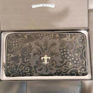 爆発的通販CHROME HEARTSクロムハーツ財布偽物 メンズ 長財布
