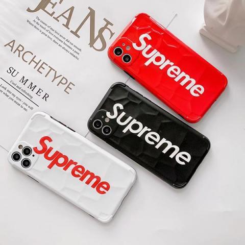 シュプリーム iphone12/12miniケース おしゃれ