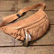 WEST RIDE / RIDING WAIST BAG (TAN SUEDE)