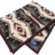 "PENDLETON / MUCHACHO BABY BLANKET ""SPIRIT OF THE PEOPLES"" (TAN)"