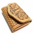 "DEER HORN SMITH'S / COIN CASE ""CRAFT"" (TAN)"