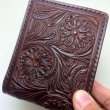 "DEER HORN SMITH'S / BILLFOLD ""CRAFT"" (BROWN)"
