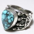 ANDY CADMAN / TURQUOISE RING ① (16)
