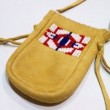 SIOUX / DEER SKIN POUCH ⑤ (TAN)