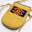 SIOUX / DEER SKIN POUCH ⑥ (TAN)