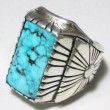 "CECIL ASHLEY / TURQUOISE RING ② ""Morenci"" (26)"