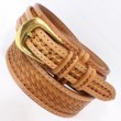 "FUNNY / 1・3/4"" Ranger 1"" Belt ""Basket"" (TAN ANTIQUE)"