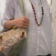 カディ小花刺繍ブラウス メゾンドソイル