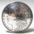 """FUNNY / Concho """"1$ Morgan 1921y Face"""" (SILVER 900)"""
