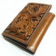 "NOCONA / TRI-FOLD WALLET ""Crafted"" (BROWN)"