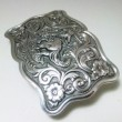 "Gist Silver Smiths / Trophy Buckle ""Bronc Rider"" (SILVER PLATE)"