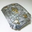 "Gist Silver Smiths / Trophy Buckle ""Large Buffalo"" (SILVER PLATE)"