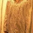 インドカディギャザシャツ pas de calais(パドカレ)