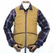 Barbour / Warm Pile Waist Coat/Zip-In Liner (BROWN)