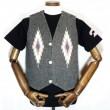 CENTINELA / Chimayo Vest (CHARCOAL GREY)