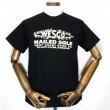 "WESCO / SHORT SLEEVE TEE ""NAILED SOLE"" (BLACK)"