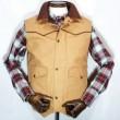 SCHAEFER / Cattleman Vest (SUNTAN)