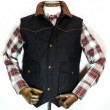 SCHAEFER / Cattleman Vest (BLACK)