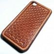 "NOCONA / I PHONE CASE ""Classic Basket"" (TAN ANTIQUE)"