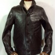 WEST RIDE / WATSONVILLE LEATHER COATS (BROWN)