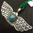 "Gary Reeves / TURQUOISE PENDANT① ""Morenci"""