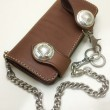 FUNNY / Rider's Wallet (BROWN)