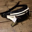 WEST RIDE / RIDING WAIST BAG (BLACK×WHITE)