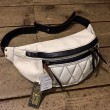 WEST RIDE / RIDING WAIST BAG (WHITE×BLACK)