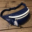 WEST RIDE / RIDING WAIST BAG (BLUE×WHITE)
